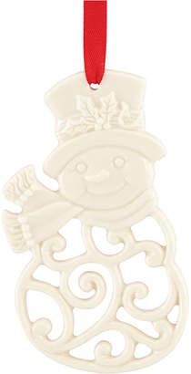 Lenox Snowman Charm Ornament, Created for Macy's