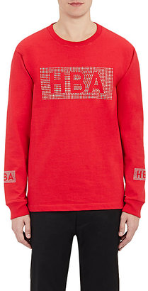 Hood by Air Men's Crystal-Logo Jersey T-Shirt $109 thestylecure.com