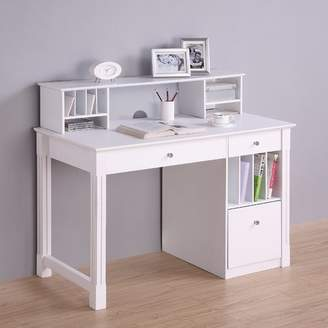 LOFT Home Concepts Deluxe Computer Desk with Hutch