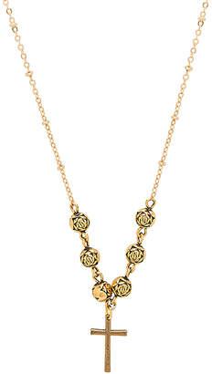 Vanessa Mooney The Celine Cross Necklace