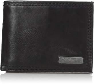 Columbia Men's Johnstown RFID Blocking Extra-Capacity Slimfold Wallet
