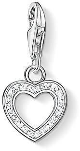 Thomas Sabo Pendant Heart Zirconia Clasp Style Charms