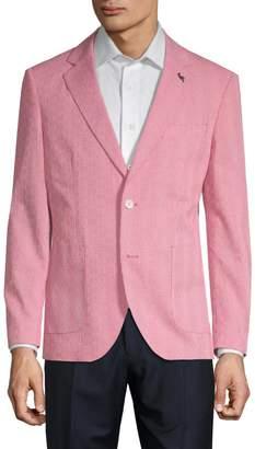 Tailorbyrd Banner Cotton Seersucker Jacket