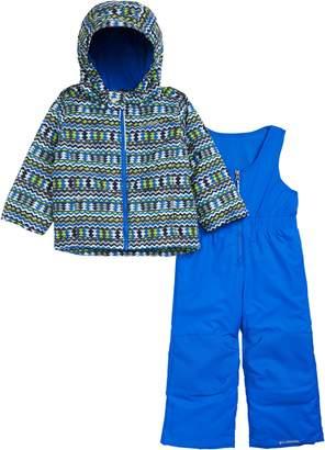 Columbia Frosty Slope Waterproof Insulated Jacket & Snow Bib Set