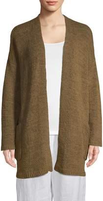 Eileen Fisher Organic Cotton Eyelet Cardigan