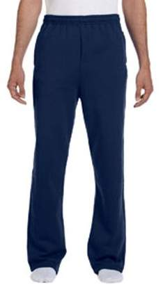 JERZEES Jerzees Adult 8 oz. NuBlend Open-Bottom Fleece Sweatpants