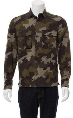 Tomas Maier Camouflage Military Jacket