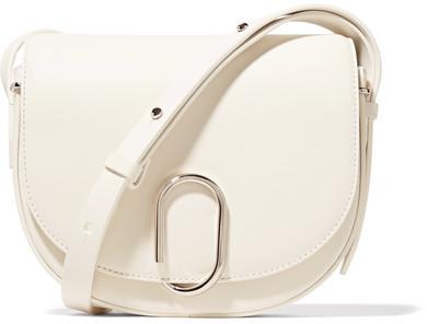 3.1 Phillip Lim3.1 Phillip Lim - Alix Saddle Leather Shoulder Bag - Off-white