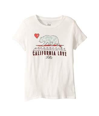 Billabong Kids Cali Love T-Shirt (Little Kids/Big Kids)
