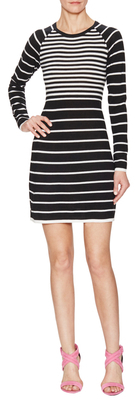 Violette Striped Wool Sweater Dress $268 thestylecure.com