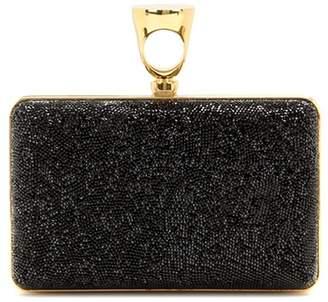 Tom Ford Micro Rock embellished box clutch