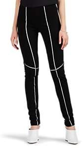 Women's One-Seam Bonded Scuba Pants - Black