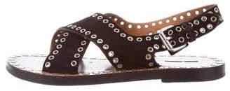 Isabel Marant Grommet Crossover Sandals