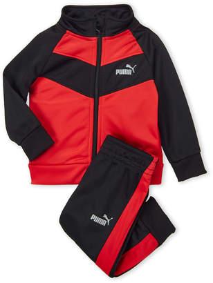 67831f14d3c3 Puma Infant Boys) Two-Piece Zip-Up Track Jacket   Joggers Set