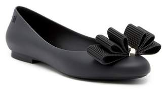 Melissa + Jason Wu Doll Bow Flat (Women)