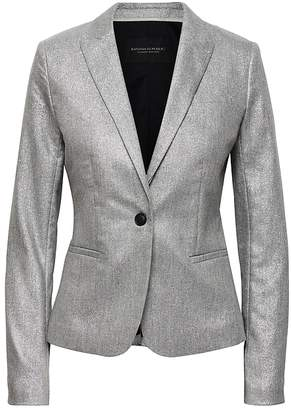 Banana Republic Classic-Fit Metallic Blazer