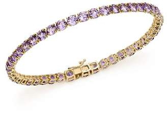 Bloomingdale's Amethyst Tennis Bracelet in 14K Yellow Gold - 100% Exclusive