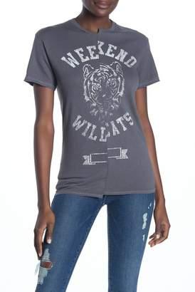 9adc43ac472240 Recycled Karma Weekend Wildcats Asymmetrical Tee