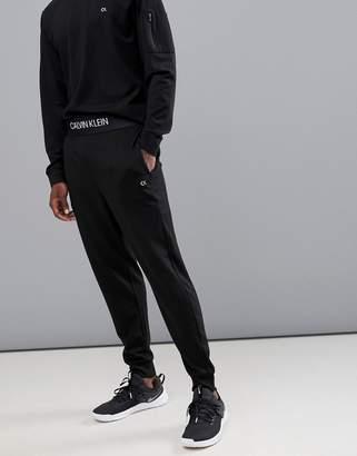 Calvin Klein logo waistband cuffed joggers