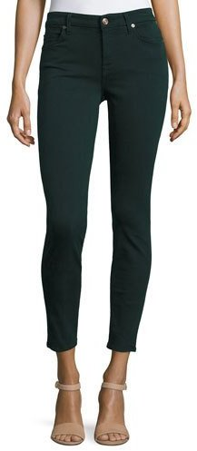7 For All Mankind7 For All Mankind The Ankle Skinny Jeans, Dark Forest