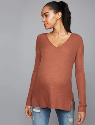 A Pea in the Pod Boyfriend Fit Maternity Sweater