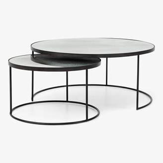 Reflect Nesting Coffee Tables Clear