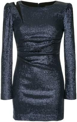 Rachel Zoe structured shoulders mini dress
