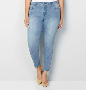 Avenue 1432 Skinny Jean in Medium Wash 28-32