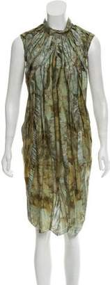 Nina Ricci Printed Sleeveless Dress