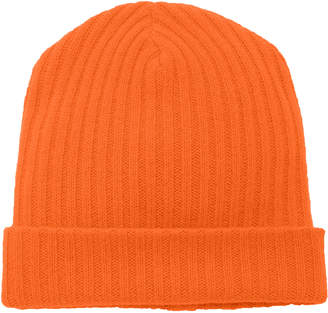 The Elder Statesman Summer Rib-Knit Cashmere Hat