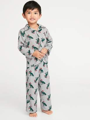Old Navy Printed Pajama Set for Toddler & Baby