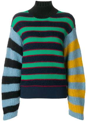 Kenzo striped knitted jumper