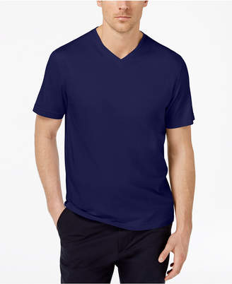 Tasso Elba Men's Supima Cotton Blend V-Neck Short-Sleeve T-Shirt