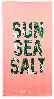 BCBGeneration Sun Sea Salt Beach Towel