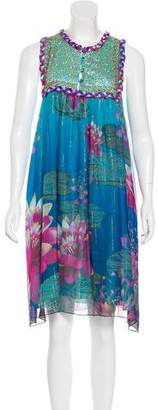 Matthew Williamson Sleeveless Silk Dress