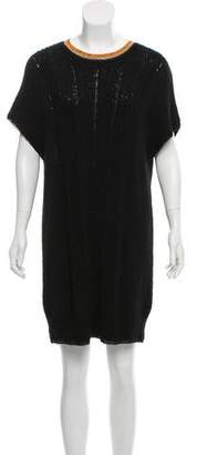 Raquel Allegra Short Sleeve Sweater Dress w/ Tags