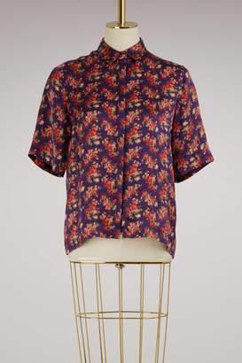 Roseanna Kinney silk shirt