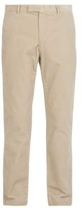 Polo Ralph Lauren Slim Leg Cotton Blend Corduroy Trousers - Mens - Beige