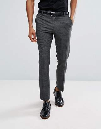 Selected Slim Prince of Wales Check Suit PANTS