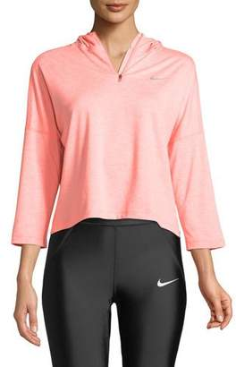 Nike Element Hooded Running Top
