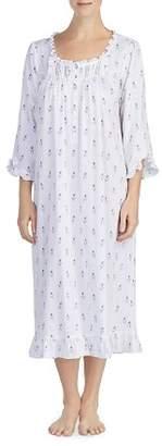 Eileen West Three-Quarter Sleeve Cotton Ballet Nightgown