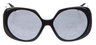 Versace Oversize Tinted Sunglasses