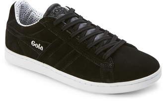 Gola Black Equipe Dot Suede Low-Top Sneakers