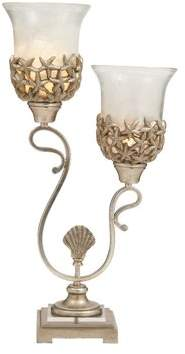 Cole & Grey Double Uplight 26 Table Lamp Set