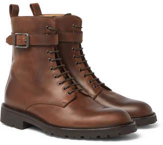 Belstaff Paddington Buckled Leather Boots