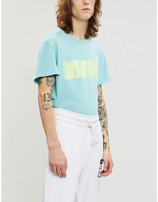 Maison Margiela Logo-print cotton-jersey T-shirt