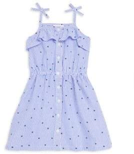Design History Little Girl's Seersucker Tank Dress