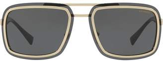 Versace Eyewear square aviators