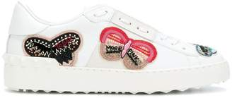 Valentino embellished butterfly sneakers