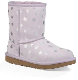 UGG Short Star II Genuine Sheepskin Lined Boot (Toddler & Little Kids)